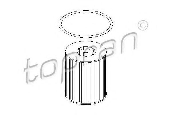 Фильтр масляный HANS PRIES/TOPRAN 205593