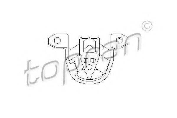 Опора двигателя HANS PRIES/TOPRAN 201 359