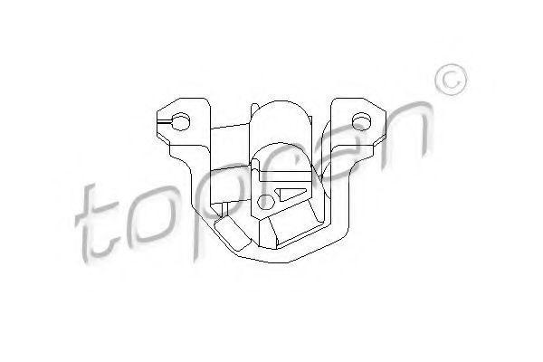 Опора двигателя HANS PRIES/TOPRAN 201 367