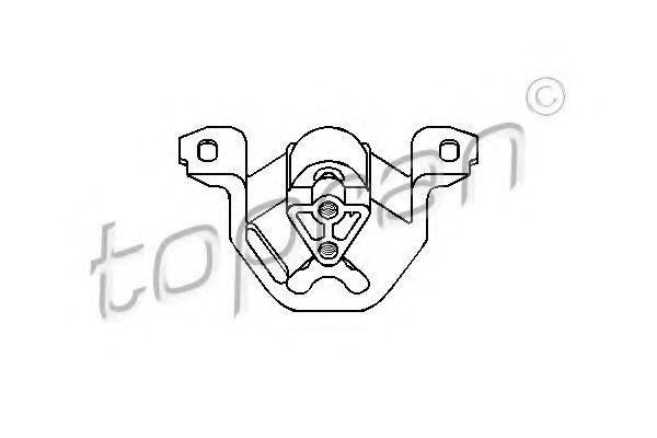 Опора двигателя HANS PRIES/TOPRAN 201368