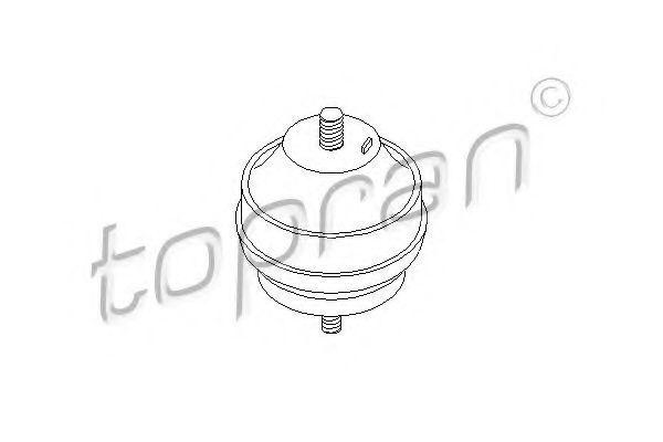 Опора двигателя HANS PRIES/TOPRAN 201 364