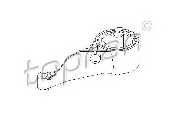 Опора двигателя HANS PRIES/TOPRAN 206 157