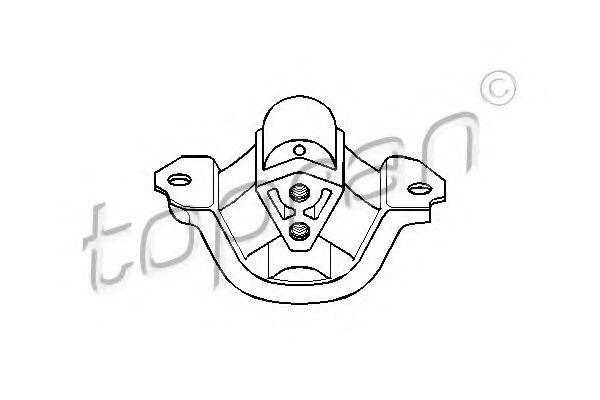 Опора двигателя HANS PRIES/TOPRAN 201 393