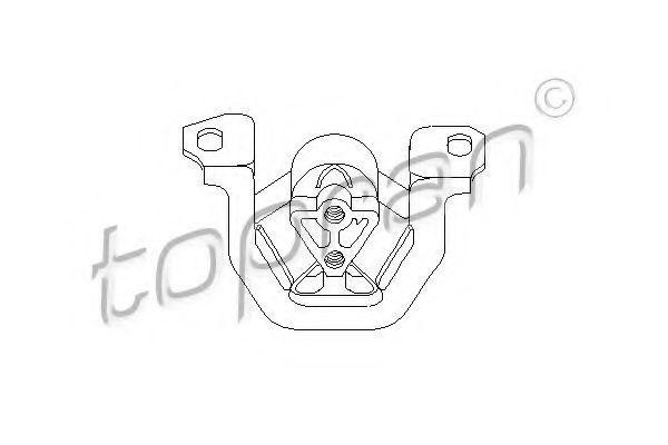 Опора двигателя HANS PRIES/TOPRAN 201 394
