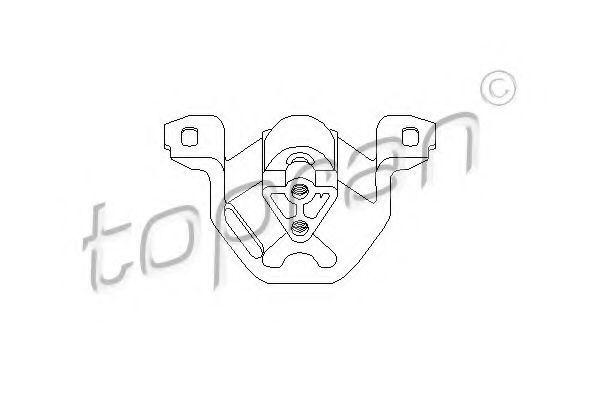 Опора двигателя HANS PRIES/TOPRAN 201 400