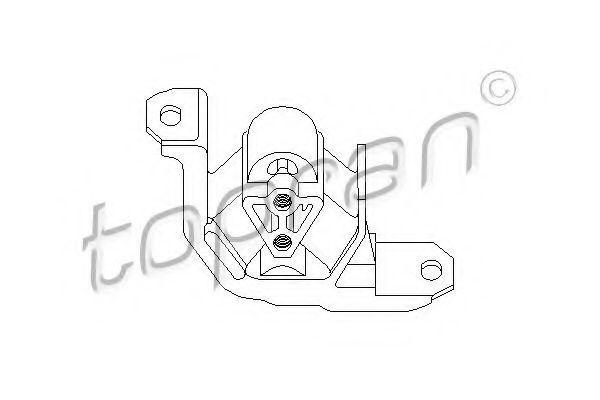 Опора двигателя HANS PRIES/TOPRAN 201401