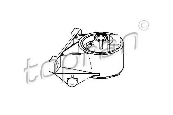 Опора двигателя HANS PRIES/TOPRAN 206164