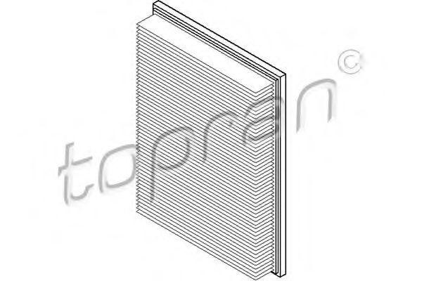 Фильтр воздушный HANS PRIES/TOPRAN 205633