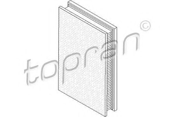 Фильтр воздушный HANS PRIES/TOPRAN 207044