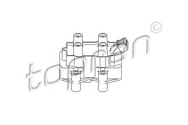 Катушка зажигания HANS PRIES/TOPRAN 206638