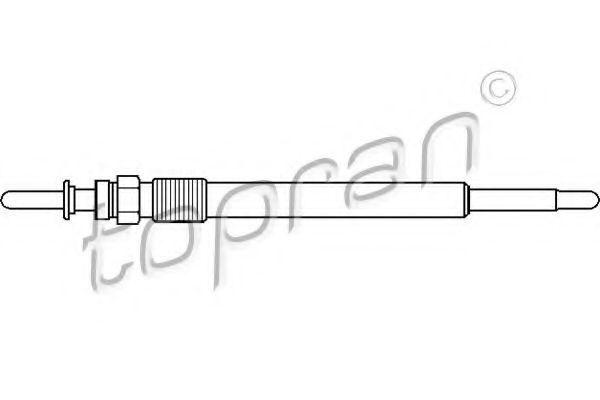 Свеча накаливания HANS PRIES/TOPRAN 206654