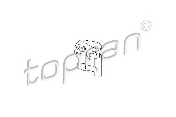 Форсунка стеклоомывателя HANS PRIES/TOPRAN 202 407