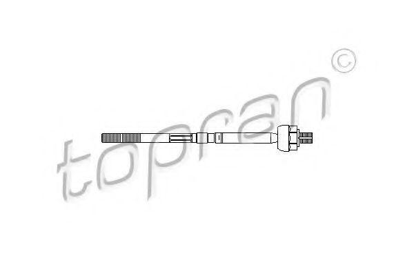 Наконечник рулевой тяги HANS PRIES/TOPRAN 206 897