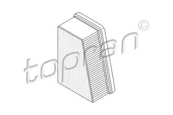 Фильтр воздушный HANS PRIES/TOPRAN 207019