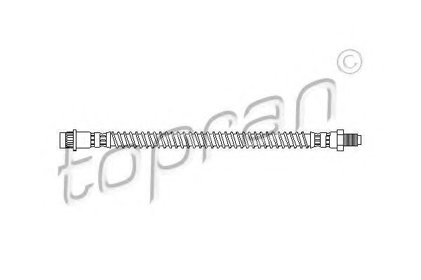 Шланг тормозной HANS PRIES/TOPRAN 207 092
