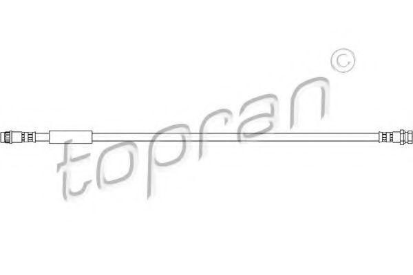 Шланг тормозной HANS PRIES/TOPRAN 207226