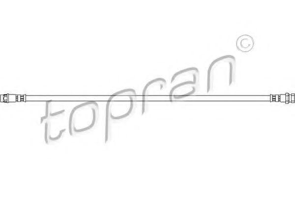 Шланг тормозной HANS PRIES/TOPRAN 207 227
