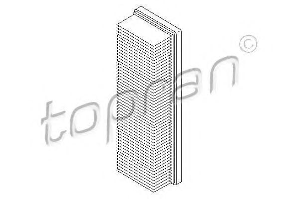 Фильтр воздушный HANS PRIES/TOPRAN 207026