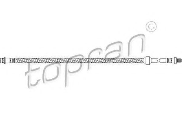 Шланг тормозной HANS PRIES/TOPRAN 207536