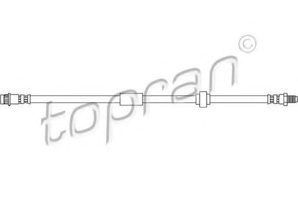 Шланг тормозной HANS PRIES/TOPRAN 207 535
