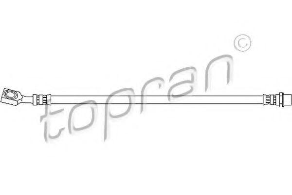 Шланг тормозной HANS PRIES/TOPRAN 207223