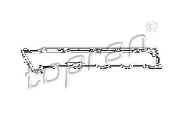 Прокладка клапанной крышки HANS PRIES/TOPRAN 206132