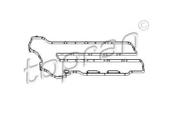 Прокладка клапанной крышки HANS PRIES/TOPRAN 206 513