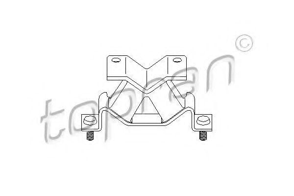 Опора двигателя HANS PRIES/TOPRAN 205 135