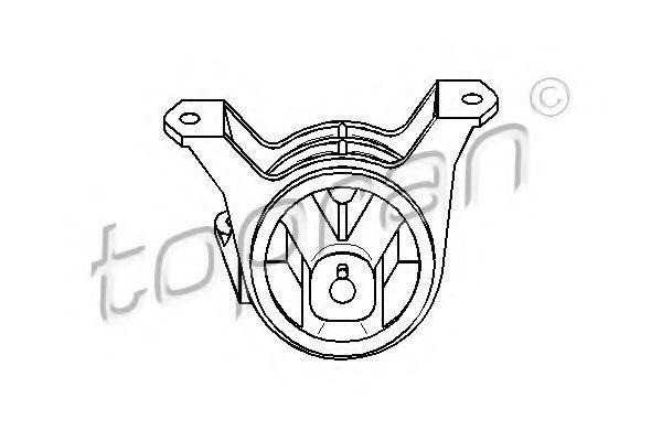 Опора двигателя HANS PRIES/TOPRAN 206 162