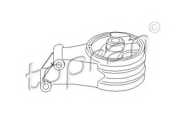 Опора двигателя HANS PRIES/TOPRAN 206 562