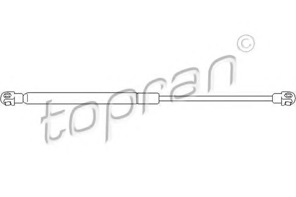Амортизатор багажника HANS PRIES/TOPRAN 301 038