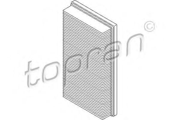 Фильтр воздушный HANS PRIES/TOPRAN 301488