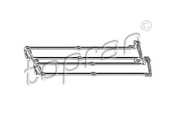 Прокладка клапанной крышки HANS PRIES/TOPRAN 302277