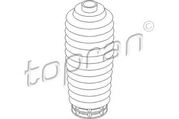 Пыльник амортизатора HANS PRIES/TOPRAN 302 211