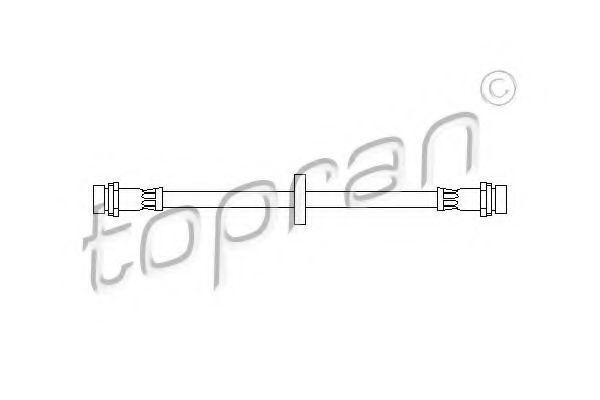 Шланг тормозной HANS PRIES/TOPRAN 301 426