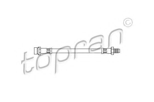 Шланг тормозной HANS PRIES/TOPRAN 301 057