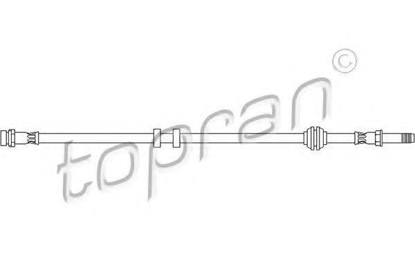 Шланг тормозной HANS PRIES/TOPRAN 300 641