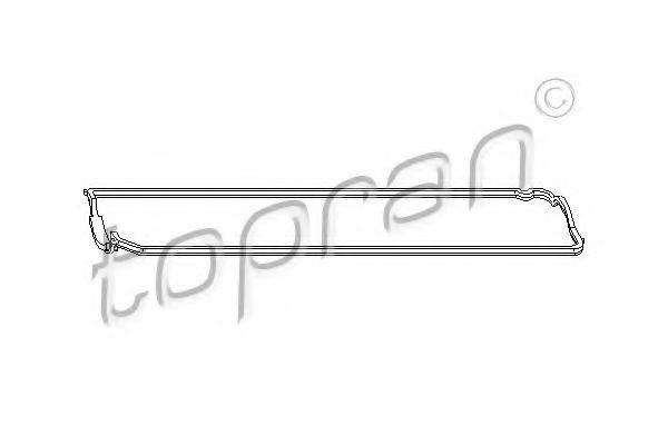 Прокладка клапанной крышки HANS PRIES/TOPRAN 301 866