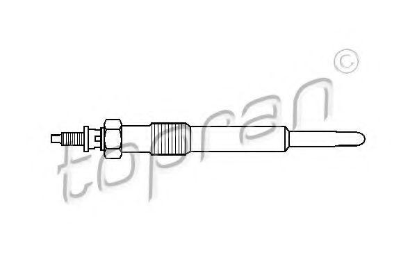 Свеча накаливания HANS PRIES/TOPRAN 302 115