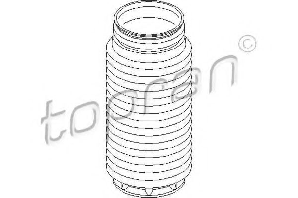 Пыльник амортизатора HANS PRIES/TOPRAN 302 210