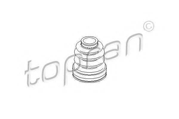 Пыльник ШРУС HANS PRIES/TOPRAN 301940