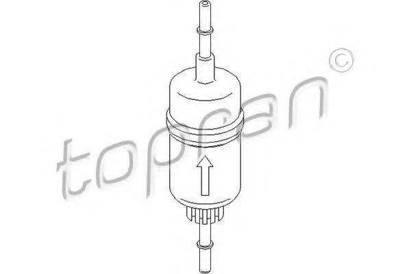 Фильтр топливный HANS PRIES/TOPRAN 302128