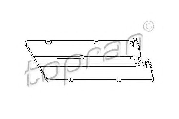 Прокладка клапанной крышки HANS PRIES/TOPRAN 301 878