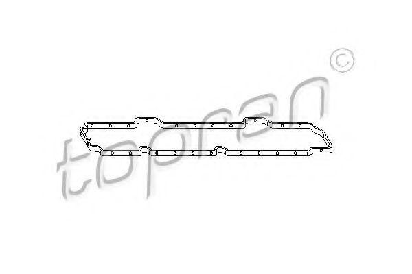 Прокладка клапанной крышки HANS PRIES/TOPRAN 301 860