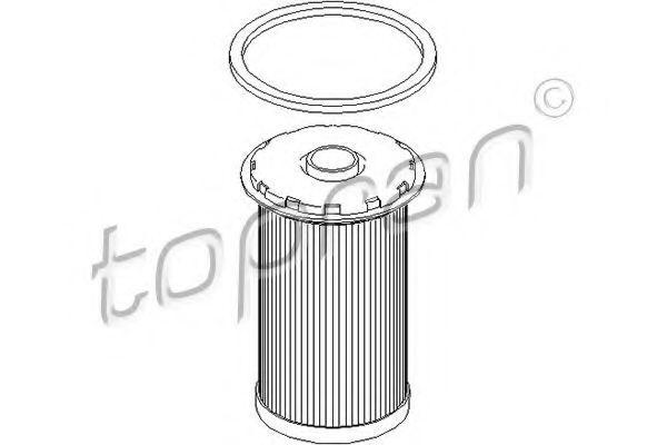 Фильтр топливный HANS PRIES/TOPRAN 302727