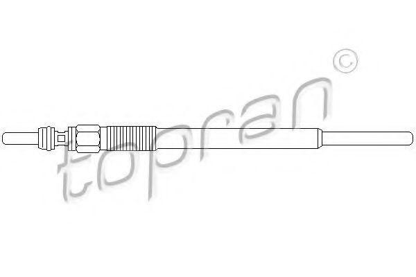 Свеча накаливания HANS PRIES/TOPRAN 720476