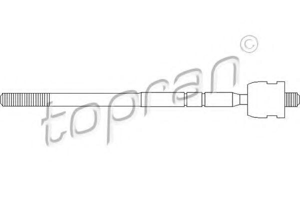 Наконечник рулевой тяги HANS PRIES/TOPRAN 302 014