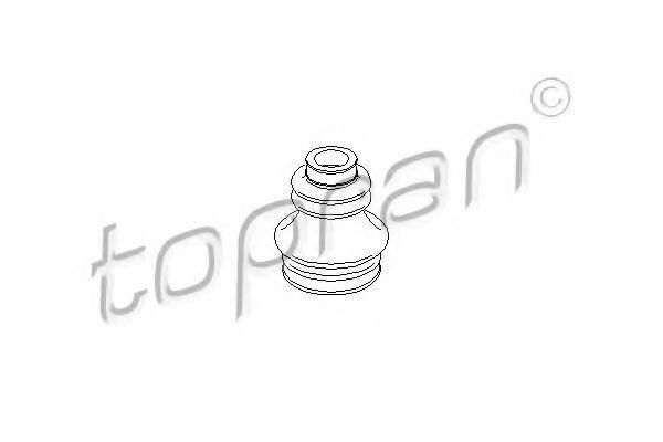 Пыльник ШРУС HANS PRIES/TOPRAN 300 825