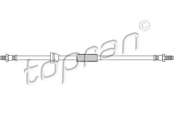 Шланг тормозной HANS PRIES/TOPRAN 300 340