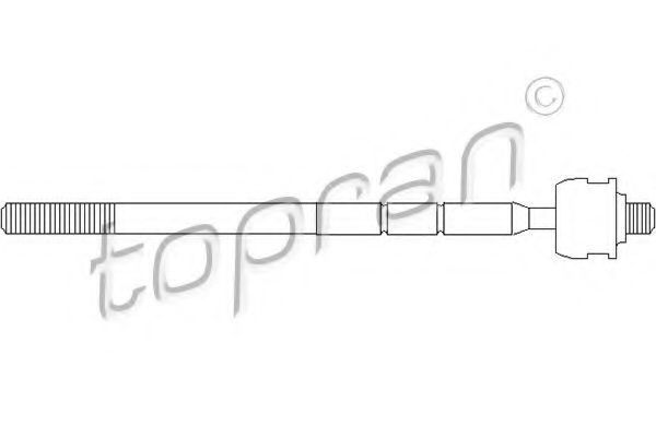 Тяга рулевая HANS PRIES/TOPRAN 301 383